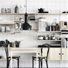 Classic Swedish Shelving, Kitchen Edition