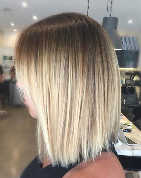 If you're usually a platinum blonde, try switching things up by going for more neutral shades, using toner to de-brass the look. Blonde balayage looks are designed to be subtle and discreet, that's why people love the style so much.