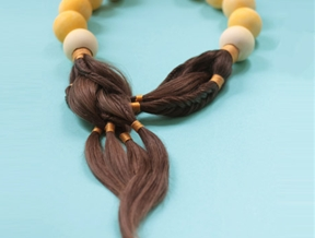 Sybille Paulsen creates jewellery for cancer patients using their own hair