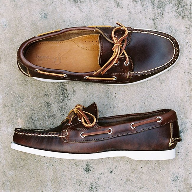 There's nothing like a very old, very comfortable pair of #sperry #topsider deck shoes; it's like a second skin.