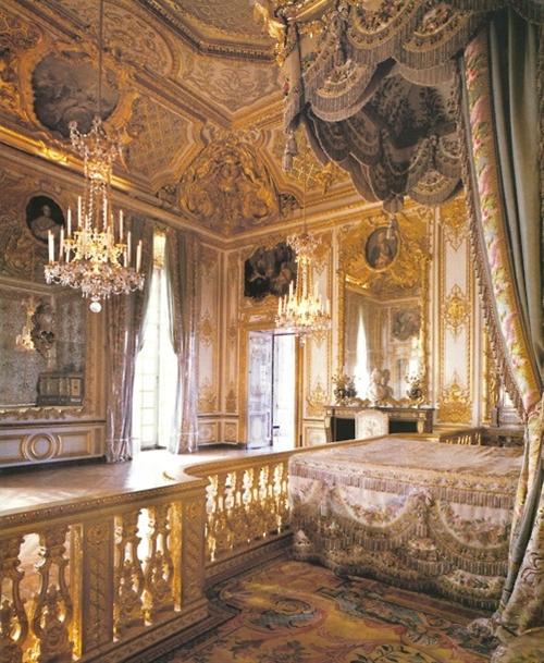 Marie Antoinette's bedroom, Versailles Palace
