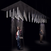 Carlo Ratti's Cloud Cast directs a cooling mist over passersby