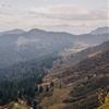 Abstieg vom Gipfel des Bleicherhorns mit Ausblick....