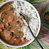 Slow Cooker Leftover Turkey and Andouille Gumbo
