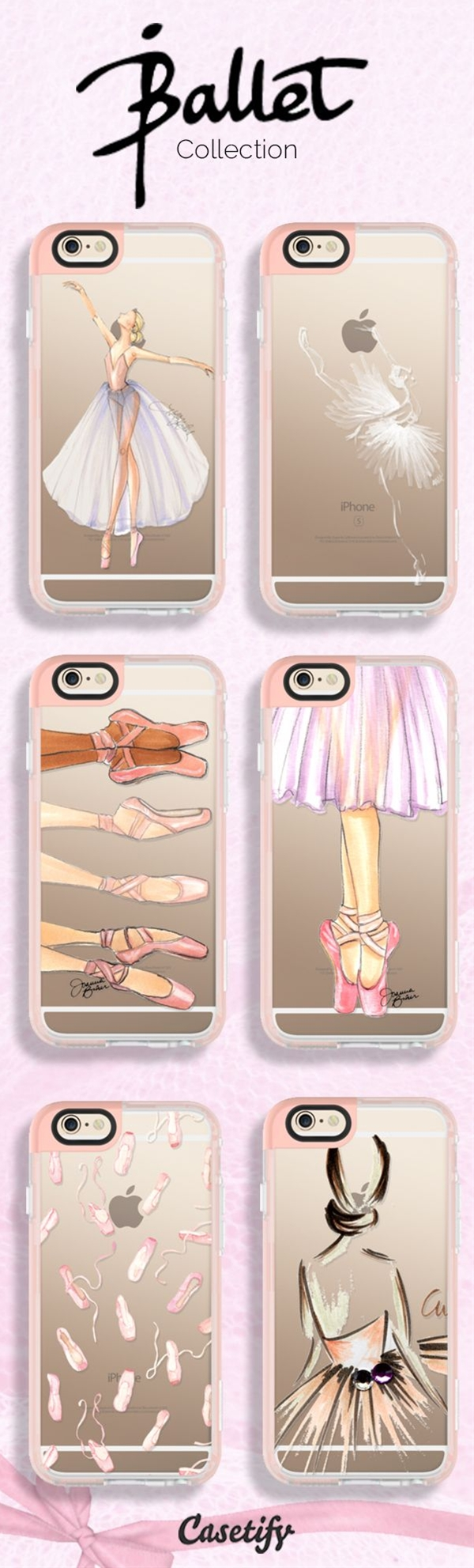 En Pointe. Shop these perfect designs for #ballerinas here: https://www.casetify.com/artworks/B0JtKEz5Lq