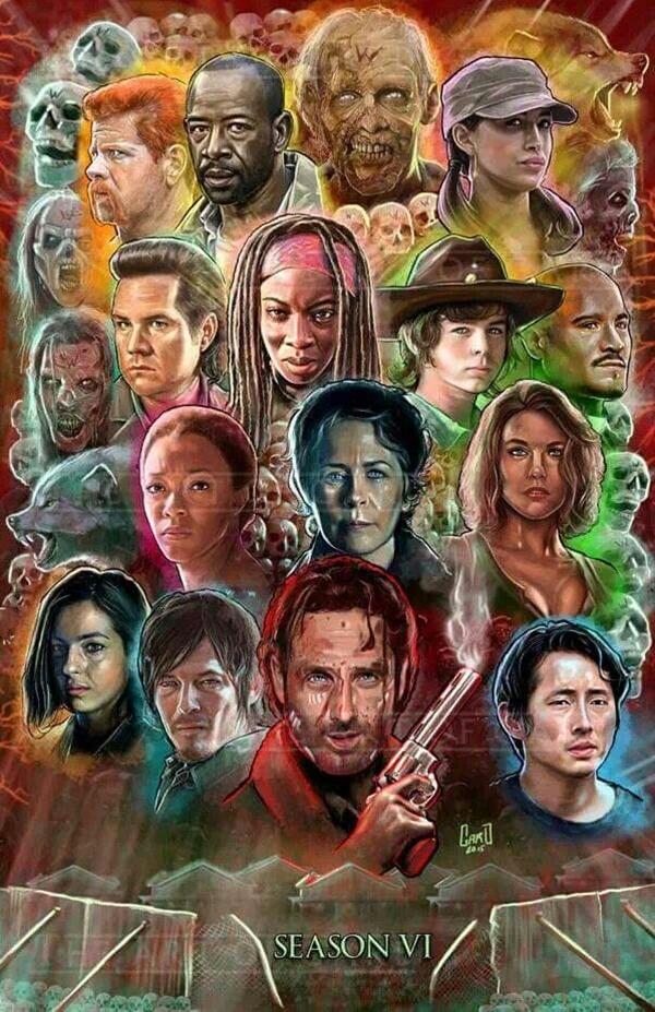 The Walking Dead S6 - #TWD #Zombies #TV