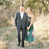 Hunter Green and Berry Engagement Inspiration