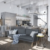 Scandinavian Apartment Jazzed Up By Industrial Design Elements
