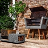 Innovative Barbecue Experience: Concrete Batea Outdoor Grill by MateriaLitica