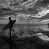 Surfer's Silhouette by Sione Photography ...