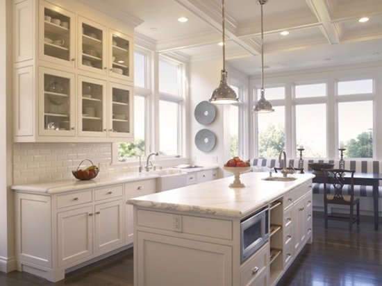 White Kitchen #kitchen #white