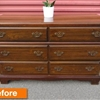 Before & After: Martha's Midnight Owl Dresser
