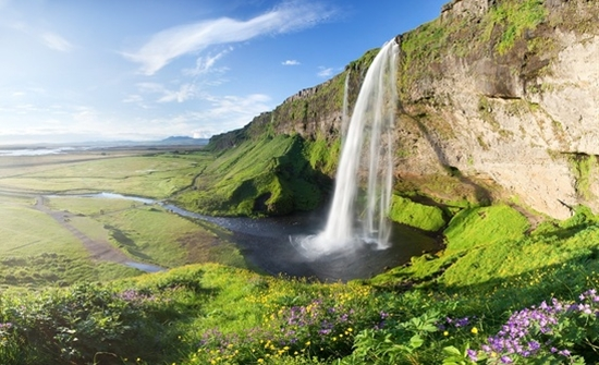 Iceland #Iceland #waterfall