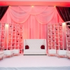 "Photos by:Biyani http://www.biyaniphoto.com/ ""Romantic Red Reception Decor Inspiration"""