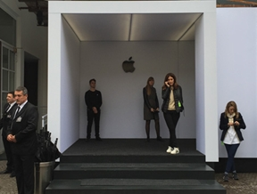 """Steve Jobs would never have allowed the pavilion to look like this"""