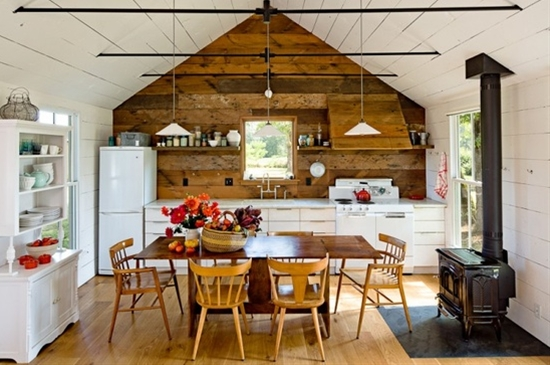 Tiny house, tiny kitchen