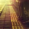 street with legs at night. baliwebsite photo by Melanie Ziggel...