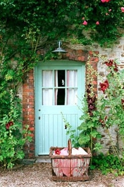 country cottage entry