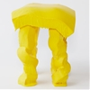Fondue Stool by Satsuki Ohata is modelled on molten cheese