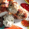 Bacon-Wrapped, Jalapeño Popper-Stuffed Grilled Chicken Breasts