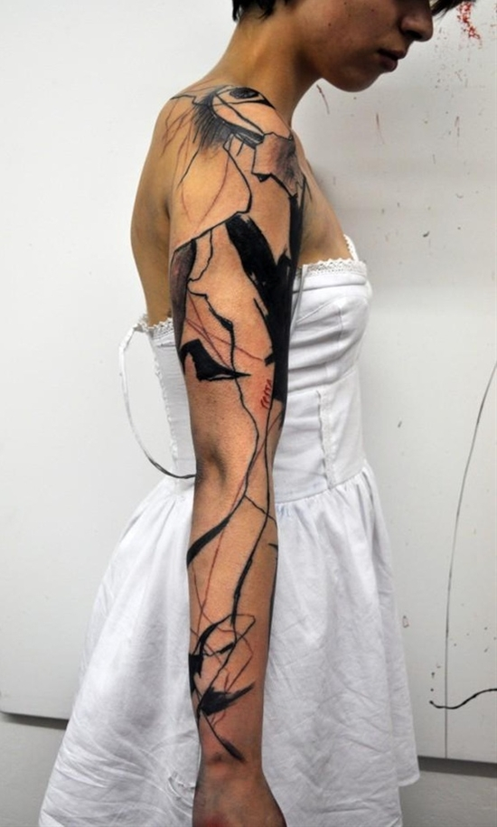 abstract sleeve. wow.