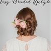 DIY Easy Braided Upstyle Tutorial