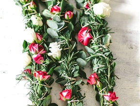 DIY WRAPPED FLOWERS (PERFECT FOR HANGING)
