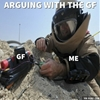Arguing with GF. #9gag