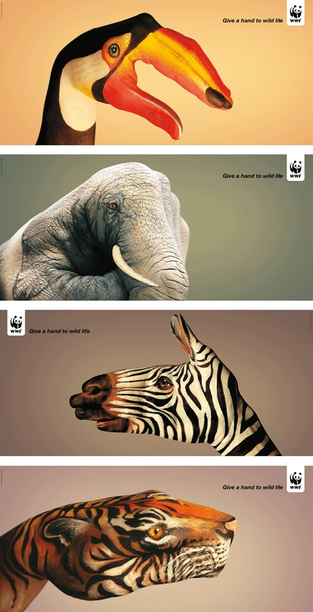 Just a beautiful ad campaign... from concept to execution.