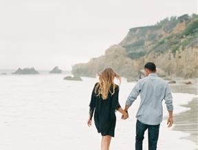 Seaside Southern California Engagement