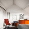 High/Low: Leather Sling Chair