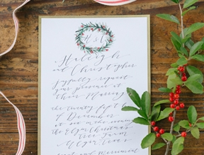 Christmas Tree Farm Wedding Inspiration