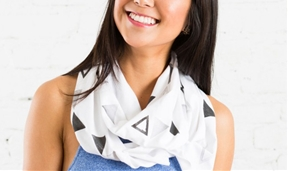 Stamps on Stamps on Scarves: How to Make a Printed Scarf