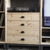 NORNÄS chest of four drawers reconfigured