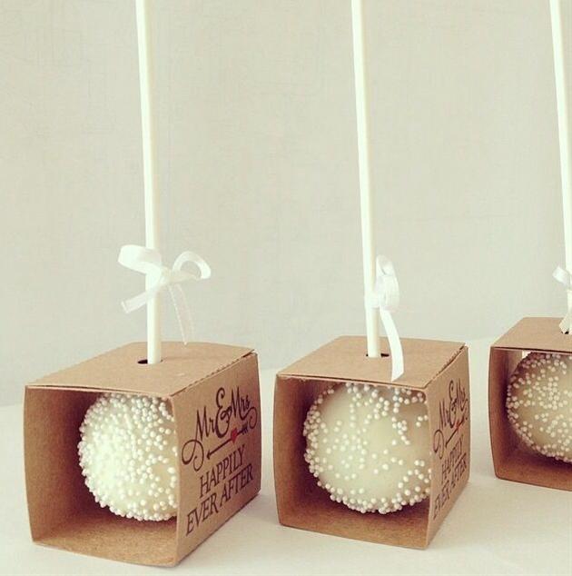 Cake Pop Boxes @psmadewithlove #SenhoraInspiracao