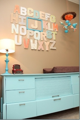 Love the color scheme and alphabet!