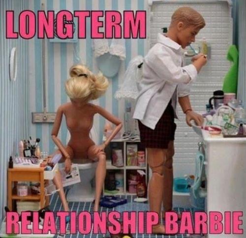 Hahahaha!  Longterm relationship Barbie!