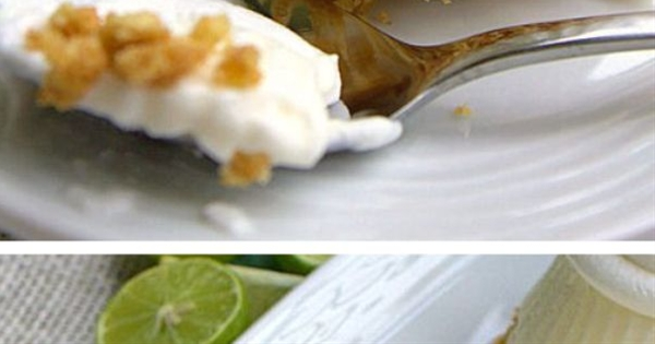 Ingredients:  ¾ Cup key lime juice, fresh squeezed (about a pound of key limes),  1 can sweetened condensed milk,  8 oz whipped topping, plus more for garnish,  8 oz cream cheese, softened,  ½ stick butter, unsalted, melted,  1 sleeve honey graham crackers, turned into crumbs.