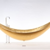 Suspended Hammock Bathtub by SplinterWorks - Gold Vessel