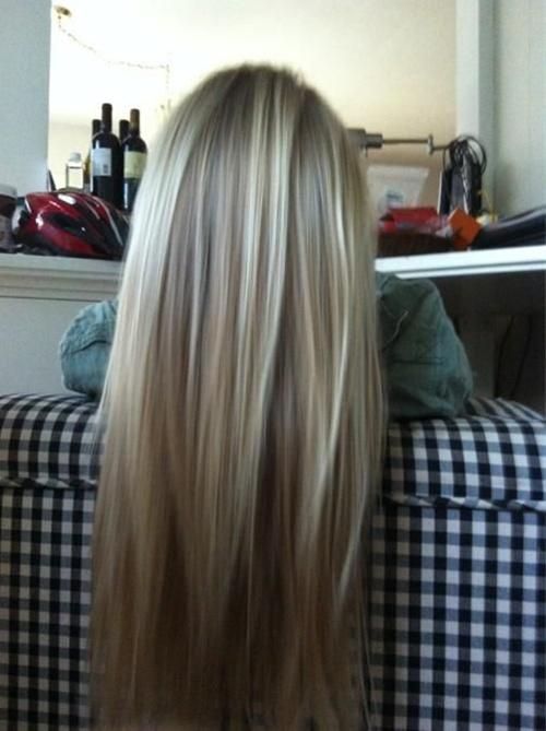 Thinking this might be a good brown to blonde transition color for me. So scared to go back to my blonde hair!