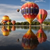 DaydreamTranquil waters and colorful balloons at the Colorado...