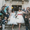 Sweet London Wedding with Quirky Details and Retro Dresses