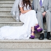 Elegant Purple Wedding At The Salt Lake City Temple