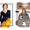 Daria Werbowy Lounges for Celine's Fall 2014 Ads