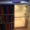 Fake bookcase hides secret cabinet