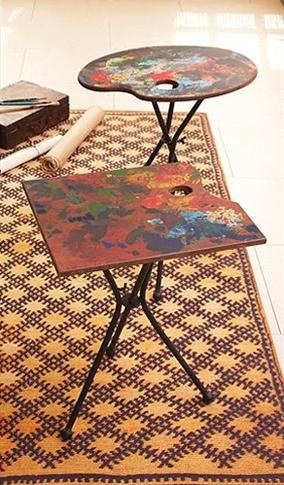 Tozai Home Artist Palette Folding Tables