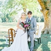 A Southern Winter Wedding with Jewel Tones