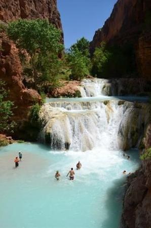 Havasupai Falls: Baevers Falls