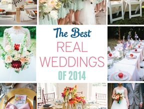 The Best Real Weddings of 2014