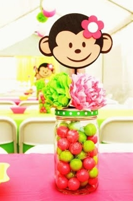 girly monkey party